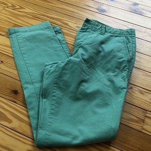 Gap Mens Green Chino
